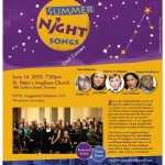 Summer Night Concert Flyer